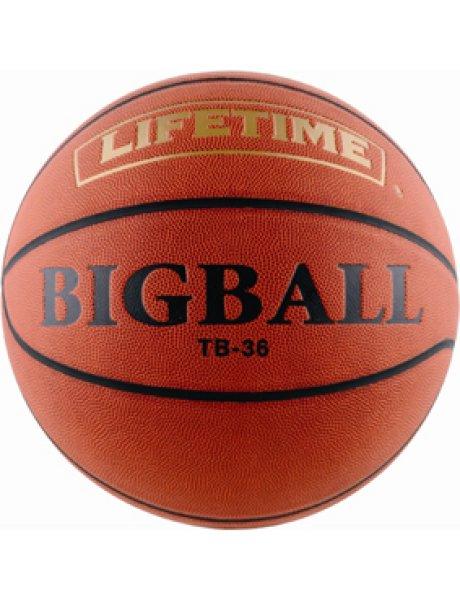 画像1: Ball BIG BALL Brwn/Blk TB-36 LIFE TIME ライフタイム バスケットボール ビッグボール ボール (1)