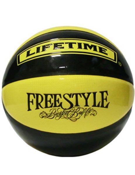 画像1: Ball Street33 7号球 Blk/Yel Pate SBBST2-BY LIFE TIME ライフタイム バスケットボール ストリート33 ボール (1)