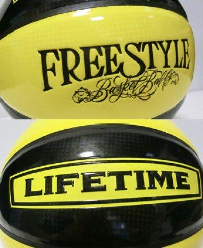 画像1: Ball Street33 7号球 Blk/Yel Pate SBBST2-BY LIFE TIME ライフタイム バスケットボール ストリート33 ボール