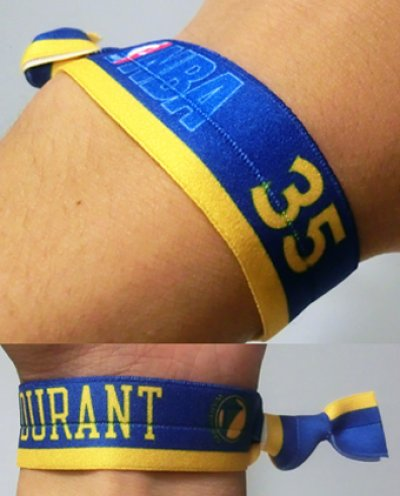 画像1: Player rubber Wristband DURANT NBA31141 NBA  リストバンド