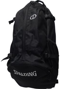 画像1: Bag Cager Blk/Sil 40-007SV BCKPK Spalding スポルディング ケイジャー バッグ バッグ (1)