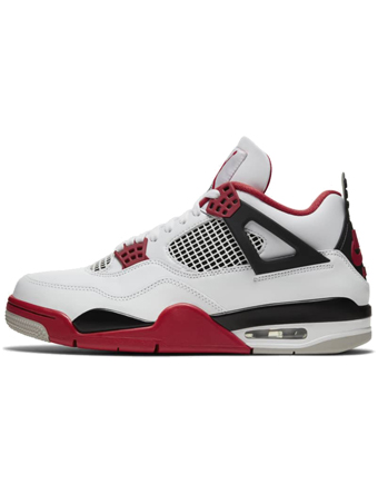 """画像1: Air Jordan 4 Retro OG """"Fire Red"""" Wht/Blk/Fire Red DC7770-160 Jordan ジョーダン シューズ  【海外限定】 (1)"""