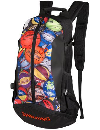 画像1: Bag Cager MultiBall 40-007MLB BCKPK Spalding スポルディング バッグ (1)