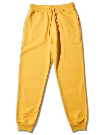 画像1: BASIC SWEAT PANTS YL Yel 218-018020 YL AKTR アクター Pants パンツ ウエア 秋冬物 【MEN'S】 (1)