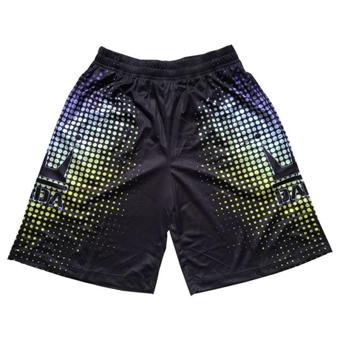 画像1: DOT CROWN Shorts Blk/Purple DAM20L056 BLK/PPL DADA ダダ Shorts ショーツ バスパン ウエア  【MEN'S】 (1)