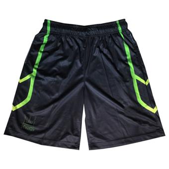 画像1: SWORD LINE SHORTS Blk/Lime DAUL008 BLK/LIM DADA ダダ Shorts ショーツ バスパン ウエア  【MEN'S】 (1)