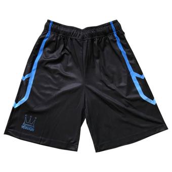 画像1: SWORD LINE SHORTS Blk/Blu DAUL008 BLK/BLU DADA ダダ Shorts ショーツ バスパン ウエア  【MEN'S】 (1)