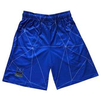 画像1: GEOMETRIC SHORTS Royal DAUL005 ROYAL DADA ダダ Shorts ショーツ バスパン ウエア  【MEN'S】 (1)