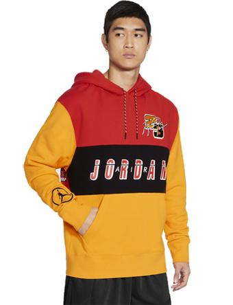 画像1: Jordan Sport DNA Hoodie  Chile Red/U.Gold/Blk V2743-673 Jordan ジョーダン パーカー アウトウエア ウエア 秋冬物  【海外取寄】【MEN'S】 (1)