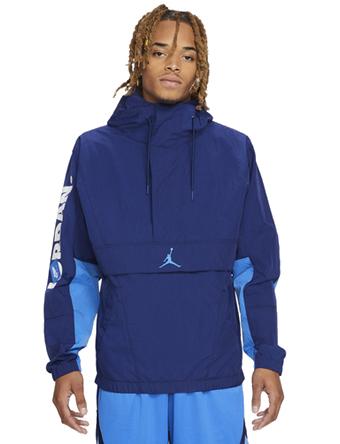 画像1: Jordan Jumpman Classic Jacket Blue Void/Signal Blue/Wht V1864-492 Jordan ジョーダン ジャケット アウトウエア ウエア 秋冬物  【海外取寄】【MEN'S】 (1)