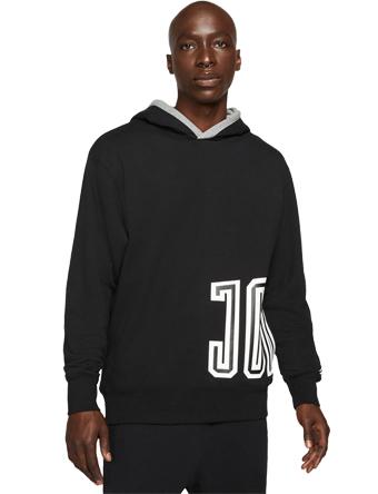 画像1: Jordan Sport DNA Fleece Pullover Hoodie Blk/Carbon Heather DA7186-010 Jordan ジョーダン パーカー アウトウエア ウエア 秋冬物  【海外取寄】【MEN'S】 (1)