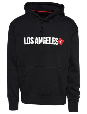 画像1: Jordan Los Angeles Pullover Hoodie Blk/Wht/Red D8066-010 Jordan ジョーダン パーカー アウトウエア ウエア 秋冬物  【海外取寄】【MEN'S】 (1)