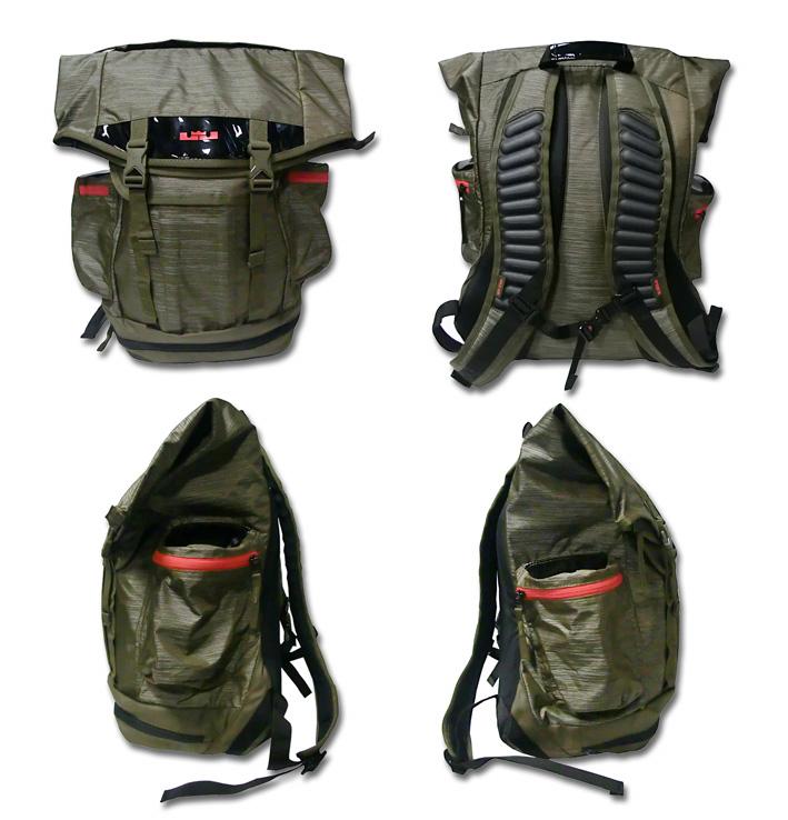 9974162f0a38 ... Bag Lebron Max Air Soldier BackPack KhakiBlk BA4749-396 BCKPK Nike ナイキ  レブロン マックス エア ...